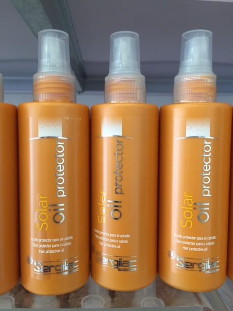 Protector solar para el pelo