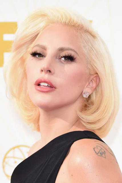 Lady Gaga Corte de pelo bob