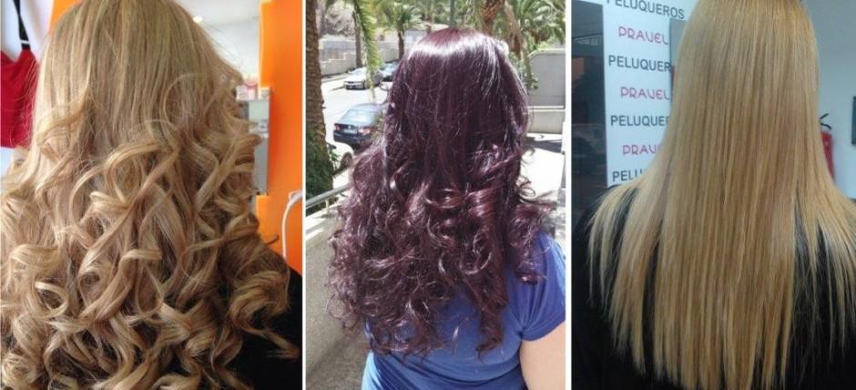 El aceite después de laminirovaniya el cabello