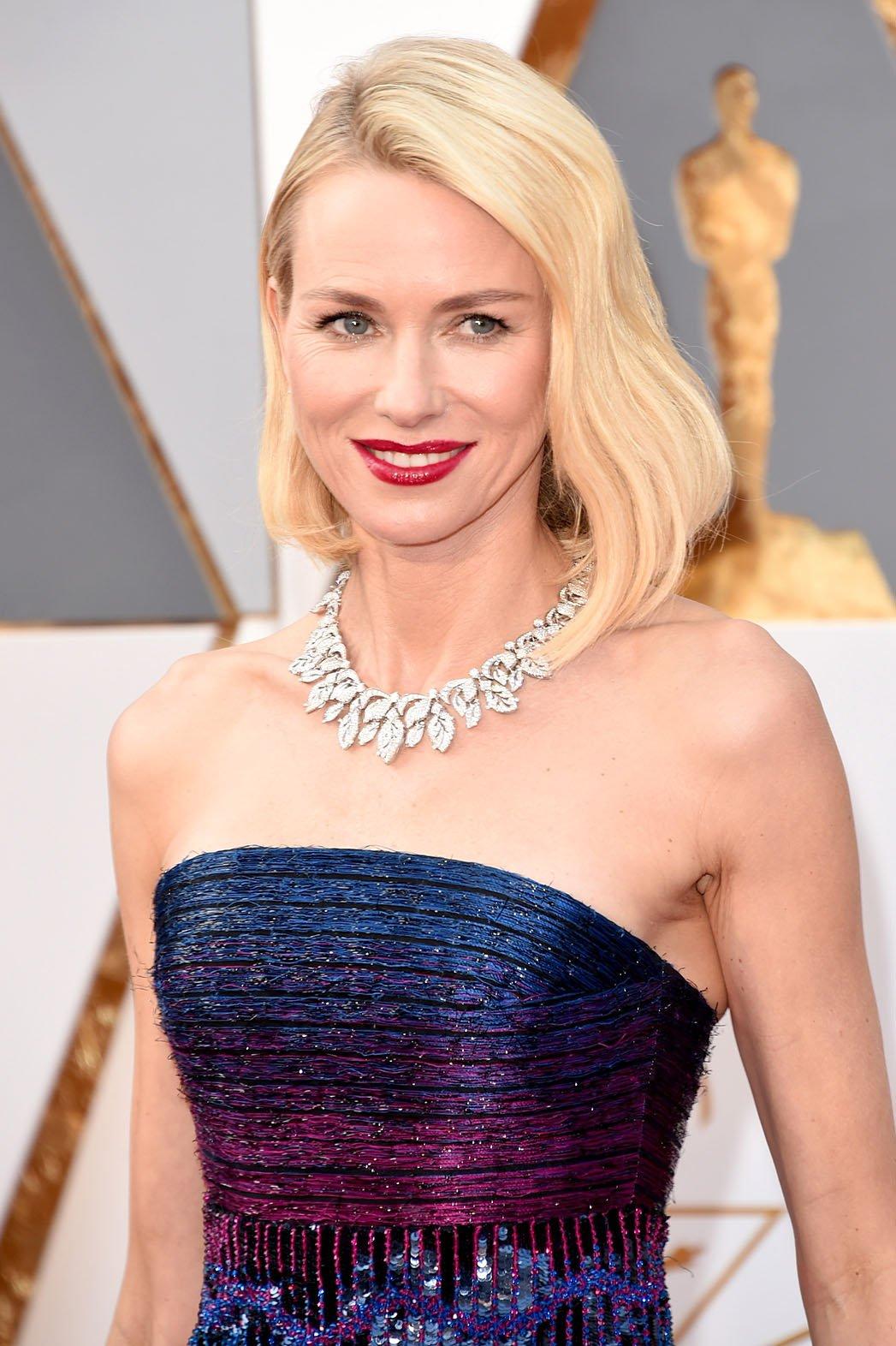 Peinados Oscar 2016 Naomi Watts