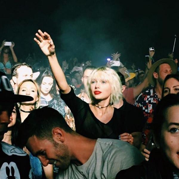 Taylor Swift pelo platino corte