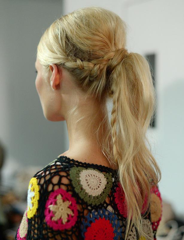 peinados con trenzas para verano