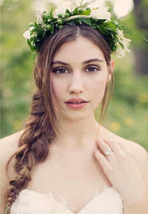 trenzas peinados novia