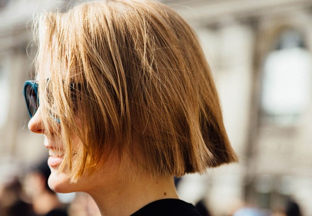 Corte pelo corto mujer poco pelo