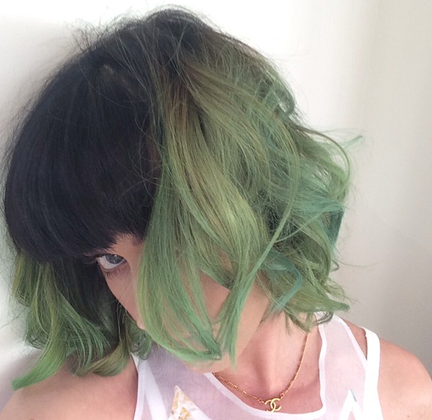 Katy Perry colores pastel para el pelo