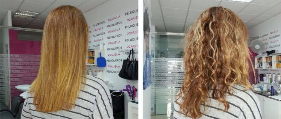 Tratamientos de keratina para cabello rizado