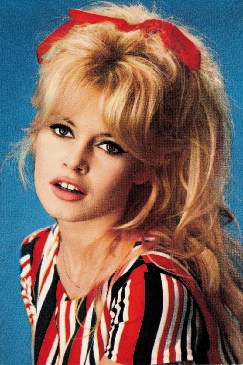 Tipos de coletas Brigitte Bardot