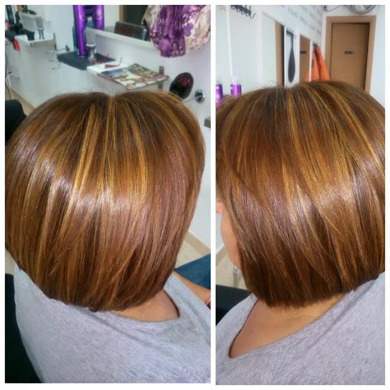 Color de pelo chocolate tintes