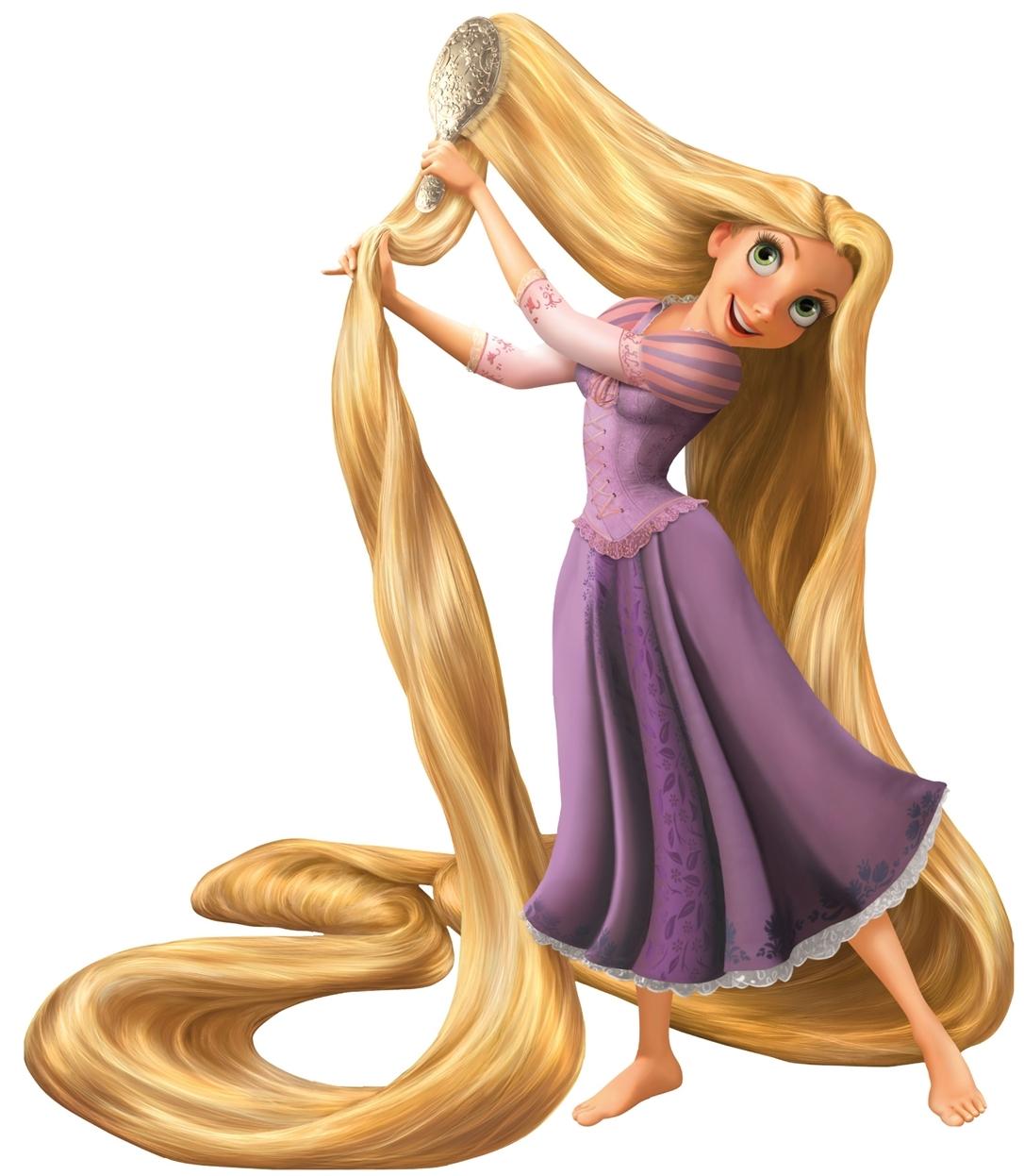 Pelo largo Rapunzel