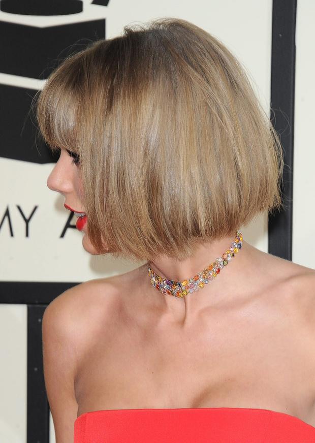 Nuevo corte d epelo de Taylor Swift