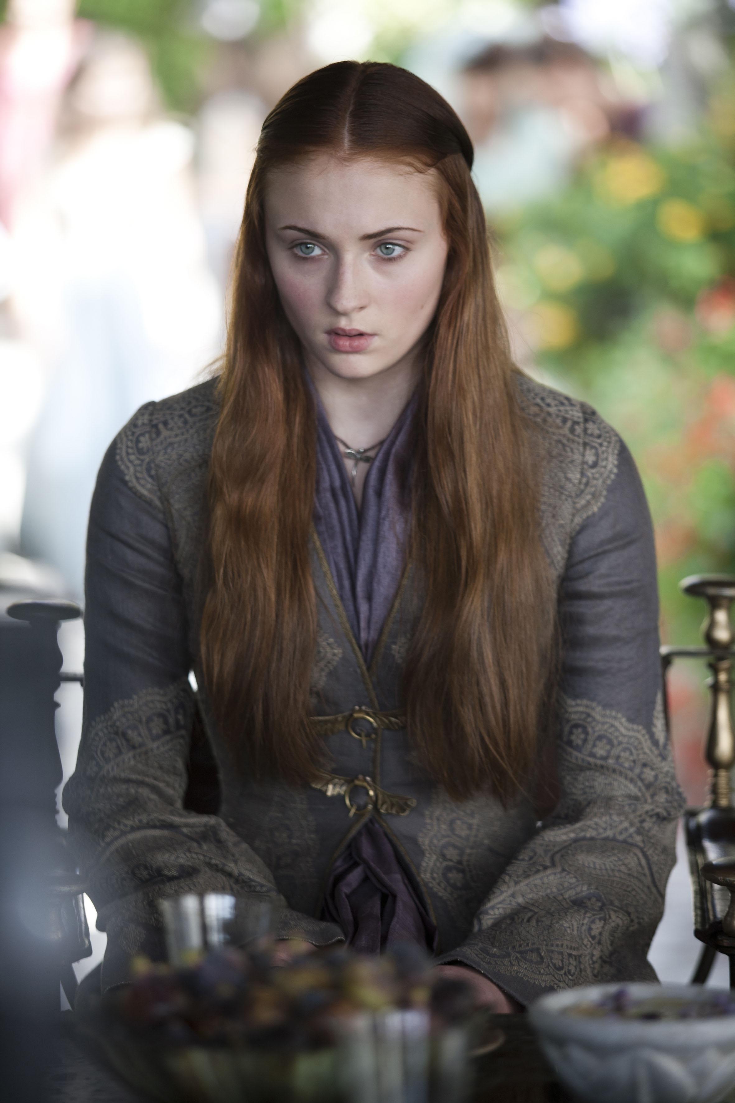 Sansa Peinados Juego de Tronos