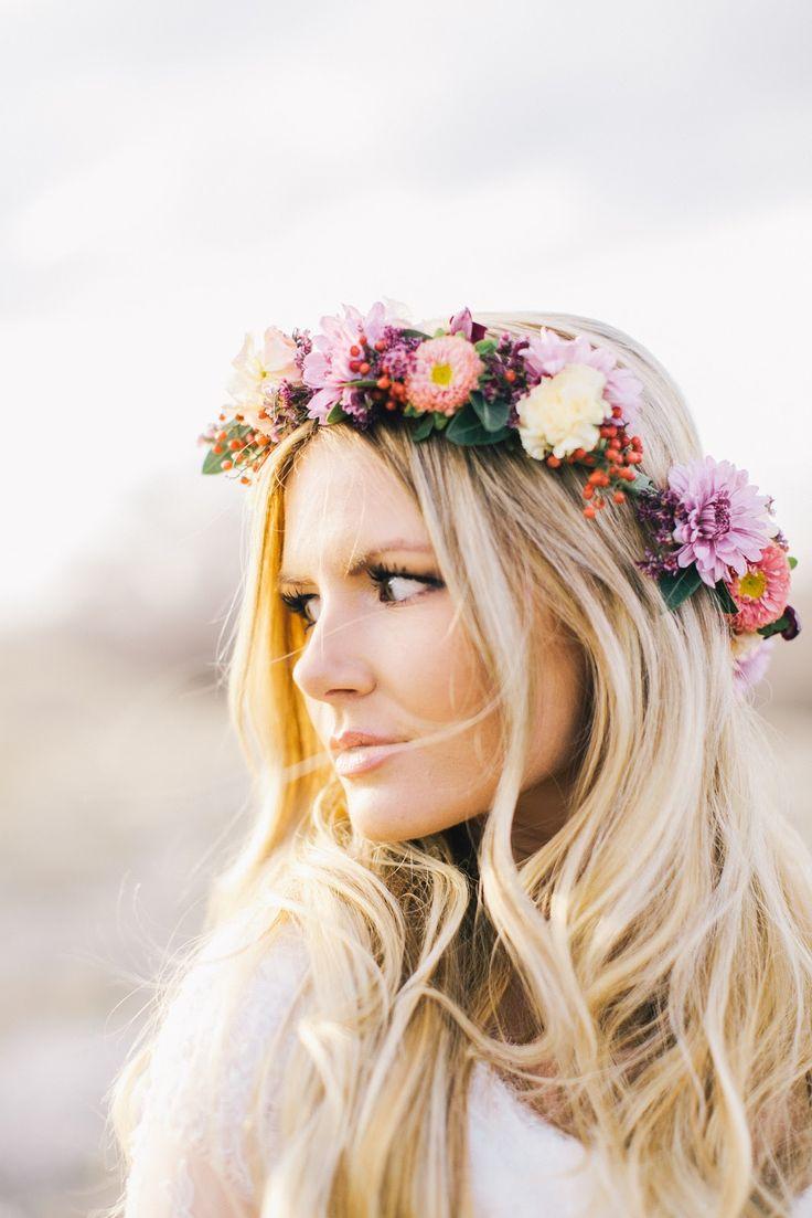 accesorios para el pelo corona de flores