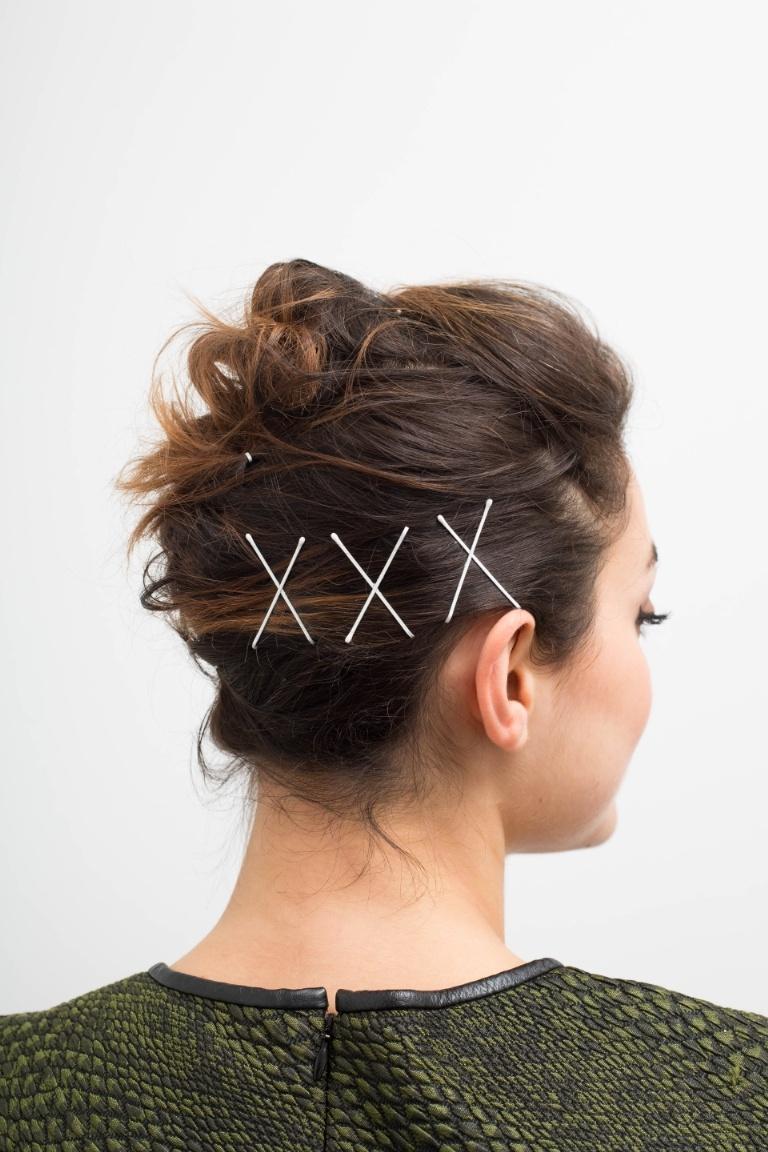 peinados con horquillas