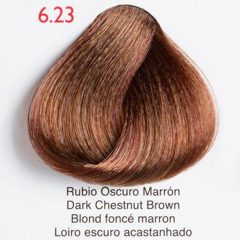 pelo castaño