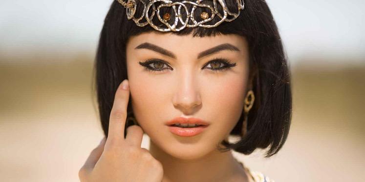 Cleopatra y el tinte