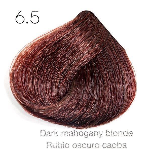 Tinte de pelo Sergilac con Keratina y Argan 6.5 Rubio oscuro caoba 120ml