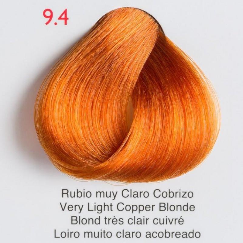 Tinte de pelo Shining Chroma 9.4 Rubio muy Claro Cobrizo