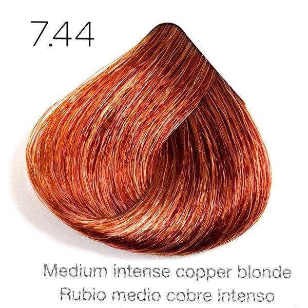 Tinte de pelo Sergilac con Keratina y Argan 7.44 Rubio medio cobre intenso 120ml