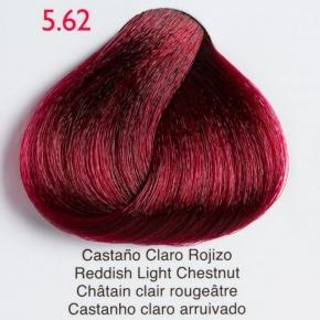 Tinte de pelo Shining Chroma 5.62 Castaño Claro Rojizo