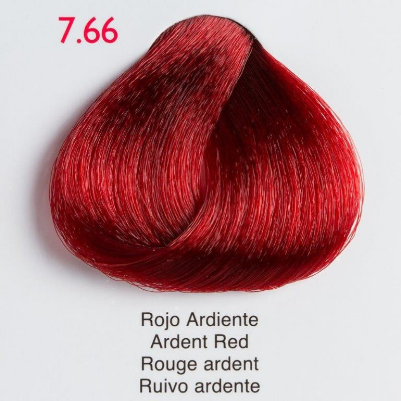 Tinte de pelo Shining Chroma 7.66 Rubio Rojo Ardiente