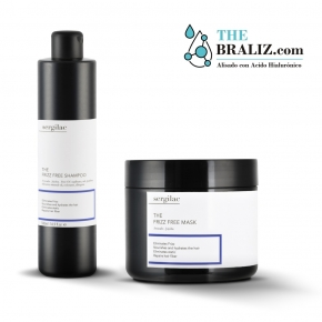 Lote Sergilac - The Frizz Free Shampoo + Mask