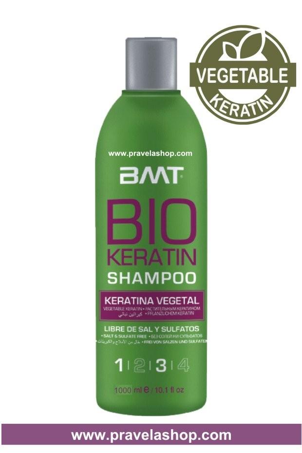 Champu BMT BIO KERATIN 1000ml -Tratamiento Alisado Keratina