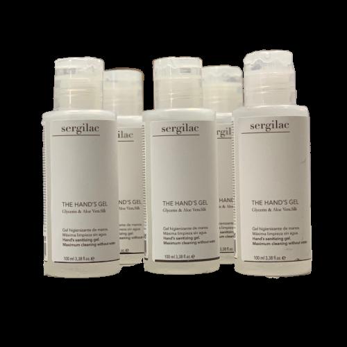 Gel Hidroalcoholico SERGILAC con Glicerina y Aloe Vera - 100ml