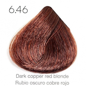 Tinte de pelo Sergilac con Keratina y Argan 6.46 Rubio oscuro cobre rojizo 120ml