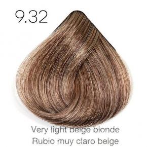 Tinte de pelo Sergilac con Keratina y Argan 9.32 Rubio muy claro beige 120ml