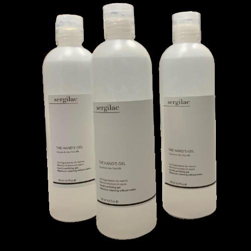 Gel Hidroalcoholico SERGILAC con Glicerina y Aloe Vera - 500ml