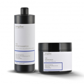 Lote Sergilac - The Repair Shampoo + Mask