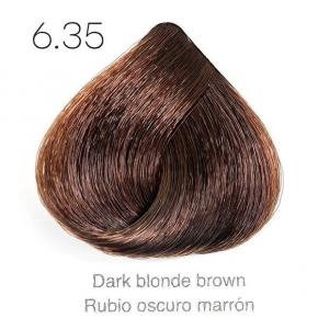 Tinte de pelo Sergilac con Keratina y Argan 6.35 Rubio oscuro marron 120ml