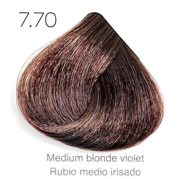 Tinte de pelo Sergilac con Keratina y Argan 7.70 Rubio medio irisado 60ml