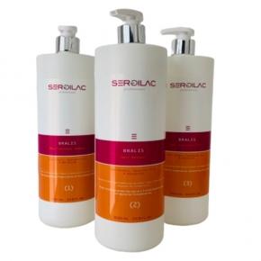 Lote-Kit 12 usos - Tratamiento Alisado Acido Hialuronico y Keratina BRALIS HAIR
