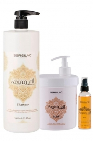 Champu + Mascarilla + Serum Repair Keratin - Argan Oil Sergilac