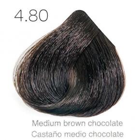 Tinte de pelo Sergilac con Keratina y Argan 4.80 Castaño chocolate 120ml