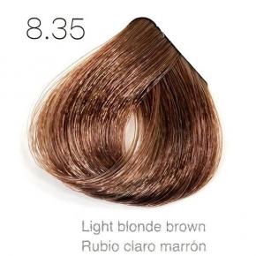Tinte de pelo Sergilac con Keratina y Argan 8.35 Rubio claro marron 120ml