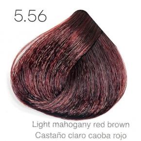 Tinte de pelo Sergilac con Keratina y Argan 5.56 Castaño claro marron caoba rojo 120ml
