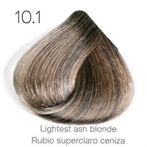 Tinte de pelo Sergilac con Keratina y Argan 10.1 Rubio super claro o platino ceniza 120ml