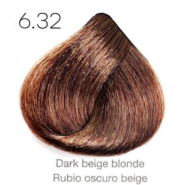 Tinte de pelo Sergilac con Keratina y Argan 6.32 Rubio oscuro beige 120ml