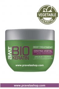 Mascarilla Deep Treatment BMT BIO KERATIN 250ml -Tratamiento Alisado Keratina