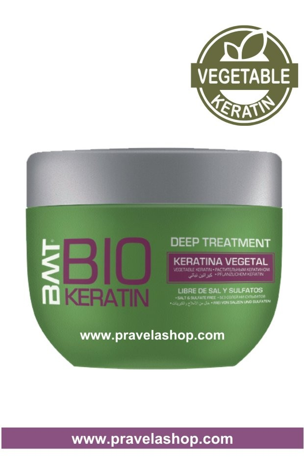 Mascarilla Deep Treatment BMT BIO KERATIN 250ml -Tratamiento Alisado Keratina