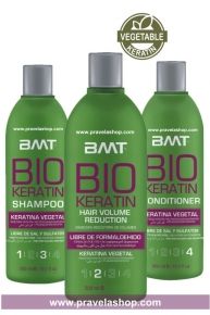Tratamiento Alisado Keratina Vegetal BMT BIO KERATIN - KIT 6 USOS
