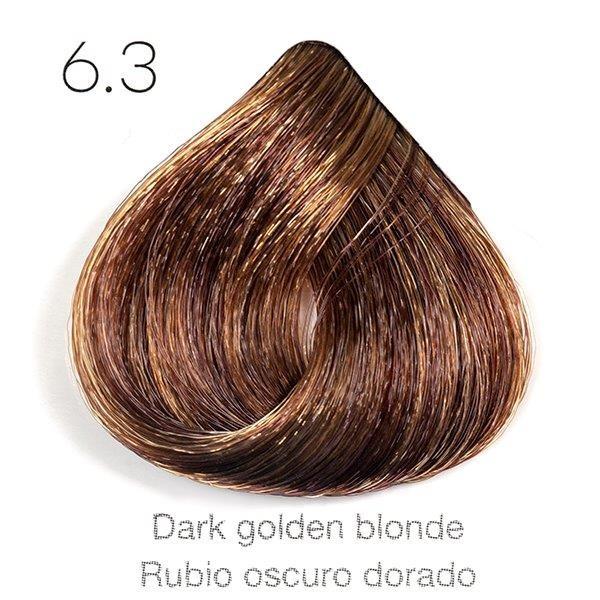 Tinte de pelo Sergilac con Keratina y Argan 6.33 Rubio oscuro dorado intenso 60ml