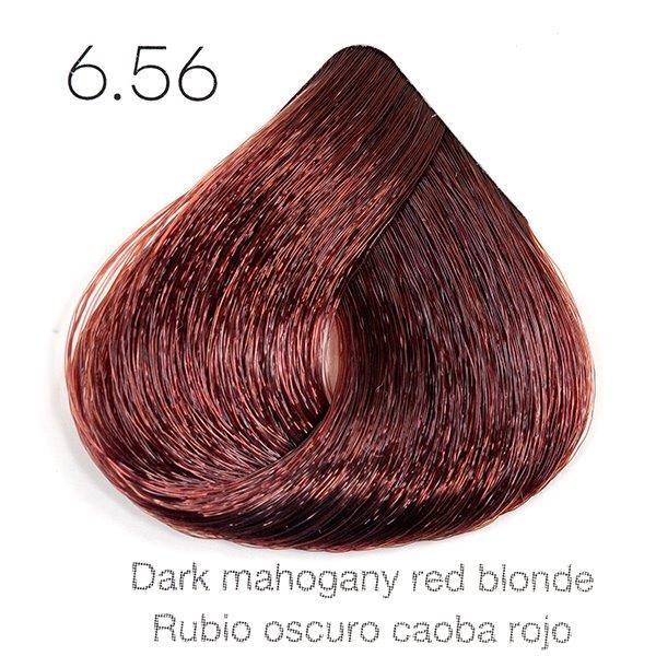 Tinte de pelo Sergilac con Keratina y Argan 6.56 Rubio oscuro caoba rojo 120ml