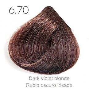 Tinte de pelo Sergilac con Keratina y Argan 6.70 Rubio oscuro irisado 60ml