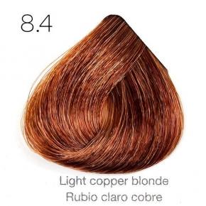 Tinte de pelo Sergilac con Keratina y Argan 8.4 Rubio claro cobre 120ml