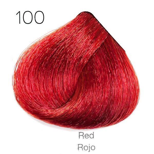 Tinte de pelo Sergilac con Keratina y Argan 100 matizador rojo 120ml