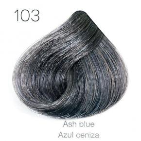 Tinte de pelo Sergilac con Keratina y Argan 103 matizador azul ceniza 120ml