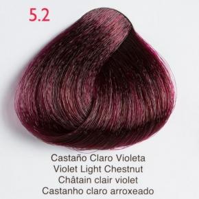 Tinte de pelo Shining Chroma 5.2 Castaño Claro Violeta